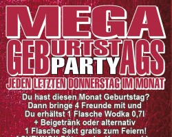 Mega Geburtstags-Party & Bingo