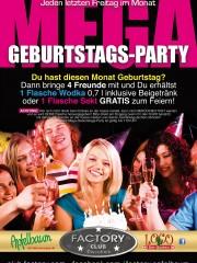 Mega-Geburtstags-Party