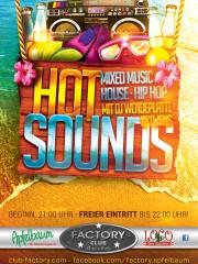 HOT SOUNDS mit DJ Wendeplatte aka Jens