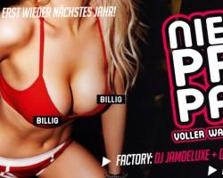 NIEDRIG PREIS PARTY !!!