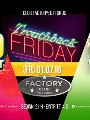 Ü30 Partynacht – Trouthback Friday
