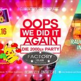 OOPS WE DID IT AGAIN – Die 2000er Party im Apfelbaum