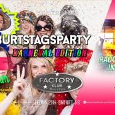GEBURTSTAGSPARTY – Wir feiern Karneval
