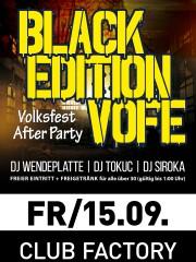 Ü30 Volksfestnacht & BLACK Edition VOFE