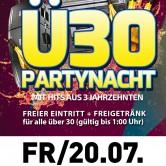 Ü30 Partyalarm im Apfelbaum Crailsheim