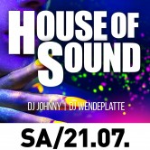 House of Sound – EDM trifft auf House und HipHouse