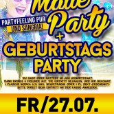 MALLE PARTY – Geburtstags-Special im Apfelbaum & Club Factory