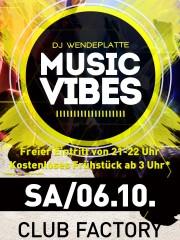 Music Vibes im Club Factory