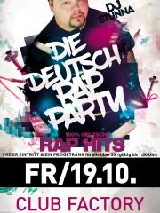 Die Deutsch Rap Party im Club Factory