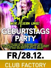 GEBURTSTAGSPARTY – Wir feiern euren Birthday
