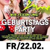 Geburtstagsparty | Crailsheim feiert B-Day im Apfelbaum