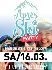 Apres Ski   Apfelbaum & Club Factory Crailsheim