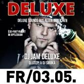 100 % Deluxe Music  – DJ Jam Deluxe im Club Factory