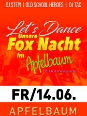 Let's Dance – Die FOX NACHT im Apfelbaum