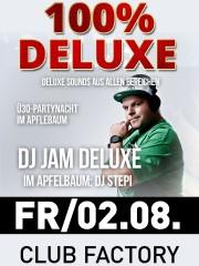 100 % Deluxe Sounds | Apfelbaum & Club Factory Crailsheim