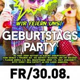 Geburtstags-Party im Apfelbaum & Club Factory