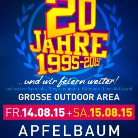 20 Jahre Apfelbaum & Club Factory Crailsheim