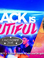 Ü30 Partynacht & Black is Beautiful
