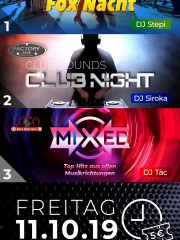 Fox Nacht Apfelbaum / Club Night Factory / Mixed Loco