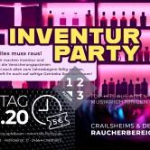 Inventur PARTY I Apfelbaum & Club Factory