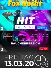 Fox Nacht Apfelbaum / Hit Factory im Club Factory